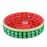 XFlated Kiddie Pool, Watermelon 3 Ring Inflatable Pool for Kids, Ideal Water Pool in Summer, 45 Inches Inflatable Swimming Pool, for Ages 3+