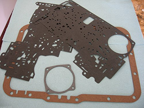 Wellington Parts Corp 5R55E FORD VALVE BODY PLATE GASKET KIT WITH *PAN GASKET AND REAR SERVO (Body Gasket Kit)