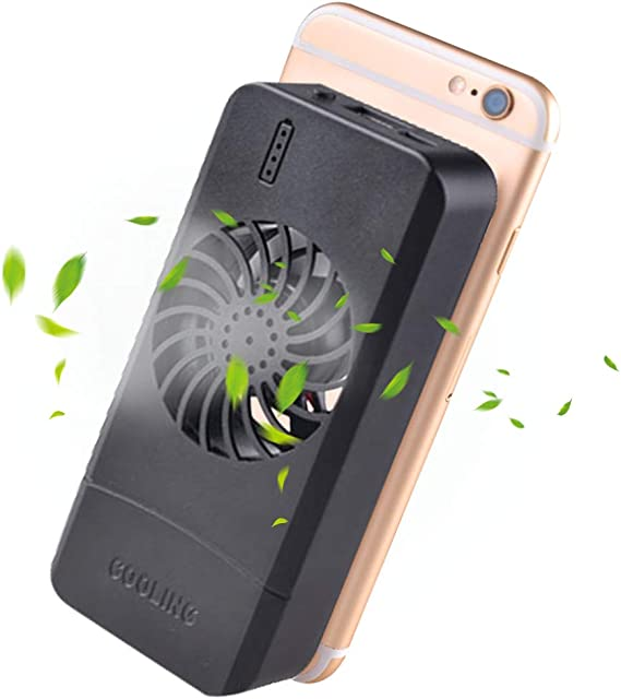 3 Port USB Mobile Phone Cooler Fan For Samsung Galaxy A6 Plus 2018