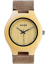Unisex Lightweight Wrist Wooden Watch, Handmade Watch...