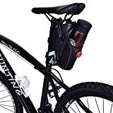 Cycling Waterproof Saddle Bag, Aramox Water Bottle Bag Mountain Bike Seat Post Bag Rack Pack