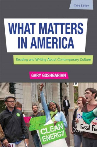 What Matters in America Plus MyWritingLab -- Access Card Package (3rd Edition)
