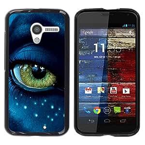 Be Good Phone Accessory // Dura Cáscara cubierta Protectora Caso Carcasa Funda de Protección para Motorola Moto X 1 1st GEN I XT1058 XT1053 XT1052 XT1056 XT1060 XT1055 // Eye Alien