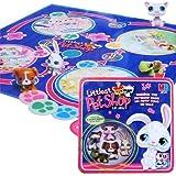 Hasbro - 536791010 - Littlest Petshop - Jeu Premier Age - Jeu d'Intérieur - Jeu Littlest Petshop Boite Metal