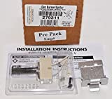 Part 279311 Genuine Factory OEM Original Gas Dryer Ignitor Kit for Whirlpool, Frigidaire, GE, Maytag, Kenmore and Sears - Replaces old part numbers WE4X750, 5303937186 and 4391996