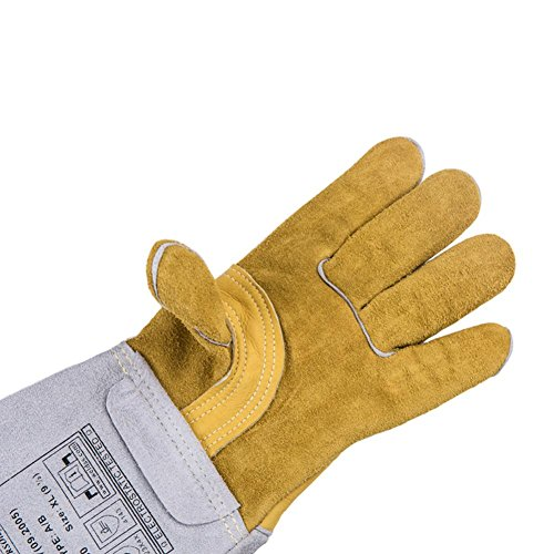 Multifunctional welders welding gloves fire wire wear - resistant flame - retardant breathable anti - cutting gloves security supplies by LIXIANG (Image #3)