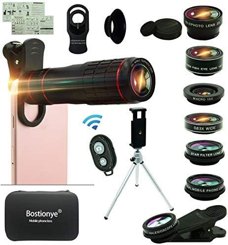 Universal Telephoto 198%C2%B0Fisheye Kaleidoscope Smartphone product image