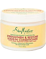 Shea Moisture Jamaican Black Castor Oil Strengthen and Restore Leave-in Conditioner, 312 g