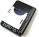 Optimal Shop Secure Digital SD SDHC SDXC MMC Memory Card to IDE 2.5'' 2.5 Inch 44P 44 Pin Male Adapter Converter, SD 3.0