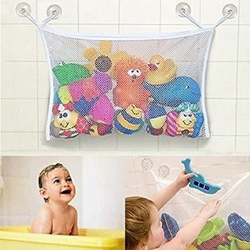 Amazon.com: Organizador de juguetes para bañera de bebé/niño ...