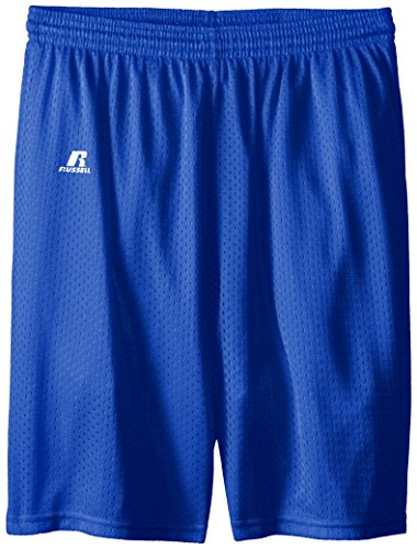 Russell Athletic Big Boys' Youth Mesh Short, Royal, Medium (Russell Athletic Mesh Jersey)