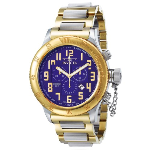 Invicta Men's 4160 Russian Diver Collection Offshore Chronograph Two-Tone Watch ()