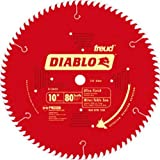 "Freud D1080X Diablo 10"" 80-tooth ATB Finish Saw Blade w/ 5/8"" Arbor & PermaShield Coating"