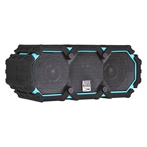 Altec Lansing IMW577-AB Lifejacket 2 Bluetooth Speaker, IP67 Waterproof, Shockproof, Snowproof, Everything-Proof Rating, 30-Foot Range, 16 Hours Of Battery Life, Aqua Blue by Altec Lansing (Image #2)