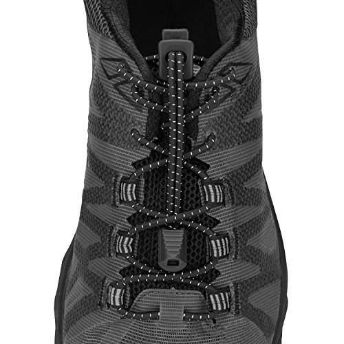 - Nathan NS1170 Run Laces Black, One Size