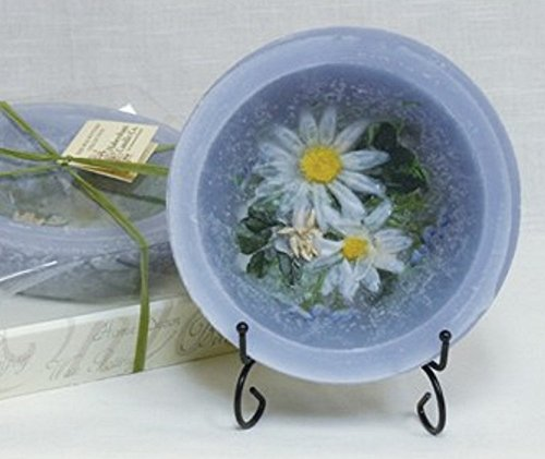 Chamomile 7 Inch Wax Pottery Bowl With Stand ()
