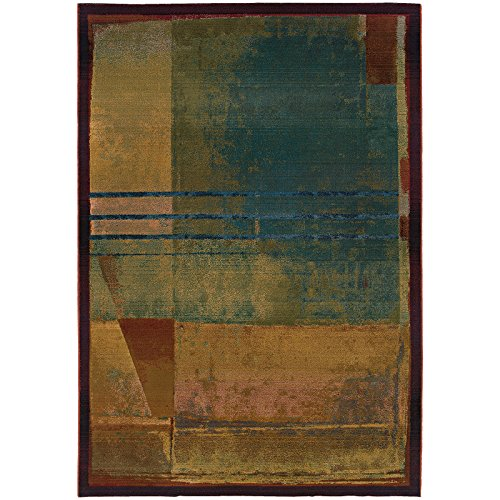 Oriental Weavers Kharma-II 890x4 Area Rug, 2' x 3', Red