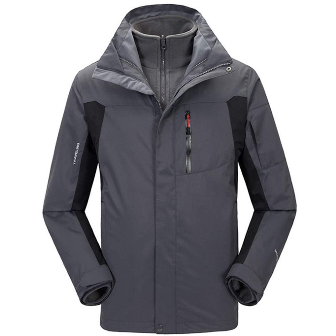 RVINFENDRIYUN YY4 Herren Mountain Waterproof Ski Jacket Windproof Regenjacke Klettern