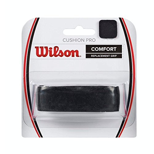 Black Cushion Grip - Wilson Cushion Aire Classic Perforated Grip, Black