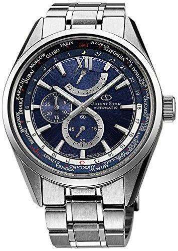 ORIENT watch ORIENTSTAR Orient Star World Time mechanical self-winding Navy WZ0041JC Men
