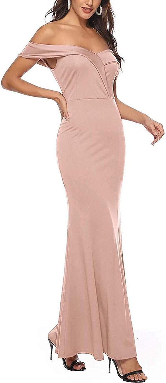 Abito da damigella d'onore elegante vestito da festa spacco rosa lungo maxi abito formato asiatico Rosa