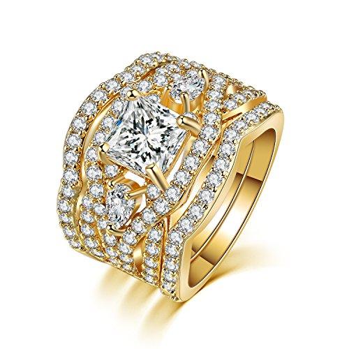 Zealmer Princess Diamond Zirconia Infinity