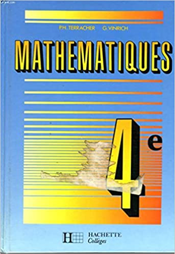 Amazon Fr Mathematiques 4e Pierre Terracher Robert