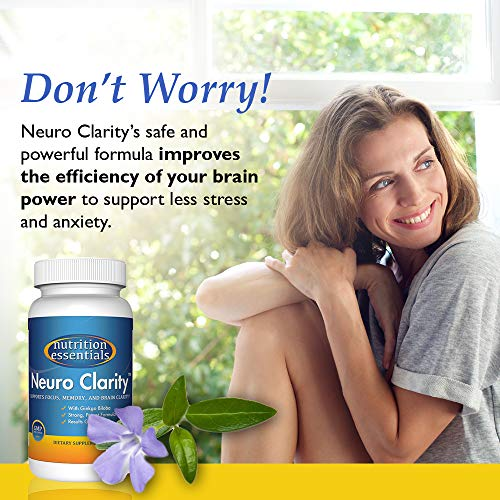 Nutrition Essentials Neuro Clarity Brain Nootropic