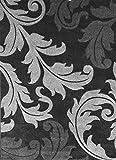 Modern Area Rug Design # H 288 Black (8 Feet X 10 Feet 6 Inch) Review