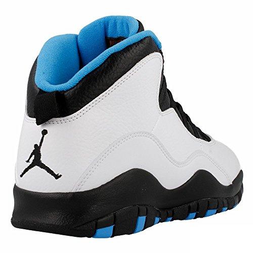 Nike Air Jordan Retro 10 Powder Blue - Color Black-Blue-White - Size: 13.5US SOtiRS4bB