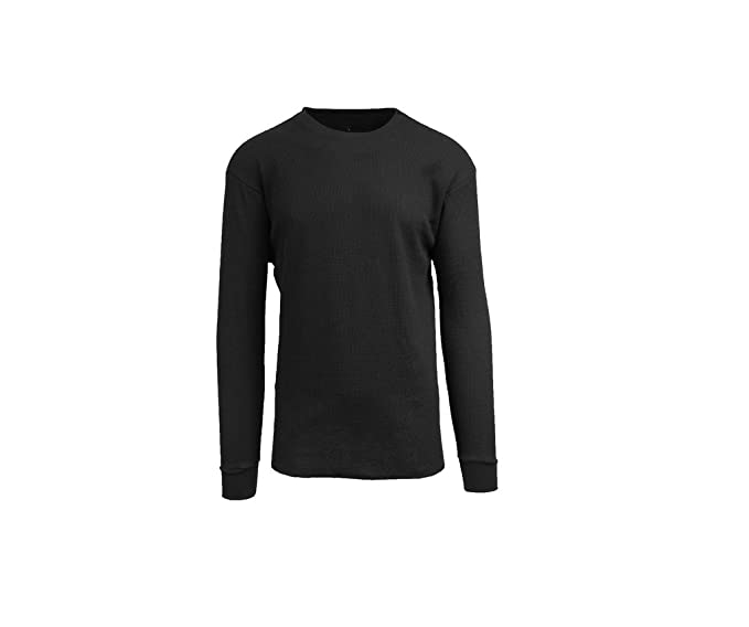 13b0e60f7252 Galaxy by Harvic Mens Crew Neck Thermal Shirt (Multiple Sizes Colors ...