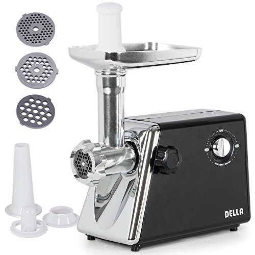 Della Stainless Electric Grinder Attachment