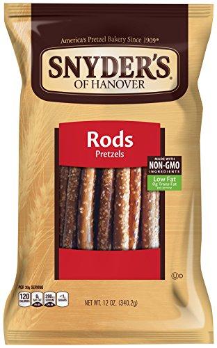 Snyder's of Hanover Pretzel Rods, 12 oz