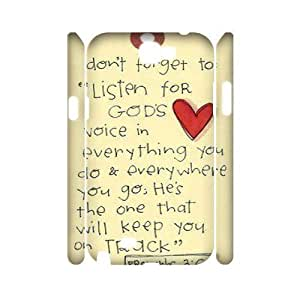 Bible Verse Customized 3D Ipod Touch 5 ,custom phone case ygtg621042