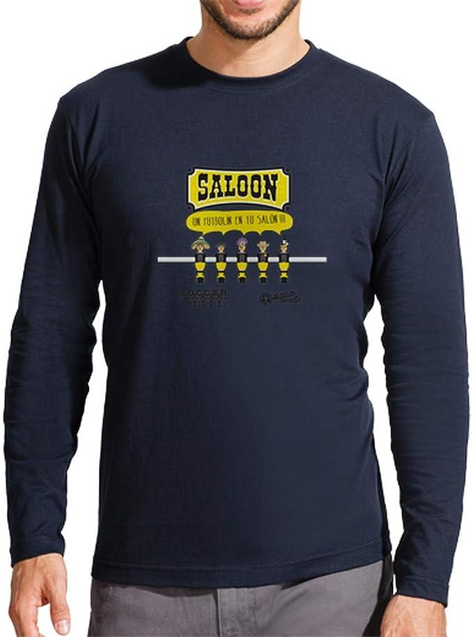 latostadora - Camiseta Diseo un Futboln en para Hombre: SoccerTable: Amazon.es: Ropa y accesorios