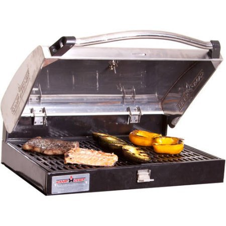 Camp Chef Deluxe Stainless Steel BBQ Box, Silver