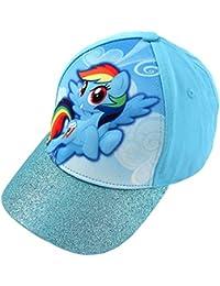 9c9b93caf5c1b Little Girls  My little Pony Rainbow Dash 3D Pop Baseball Cap