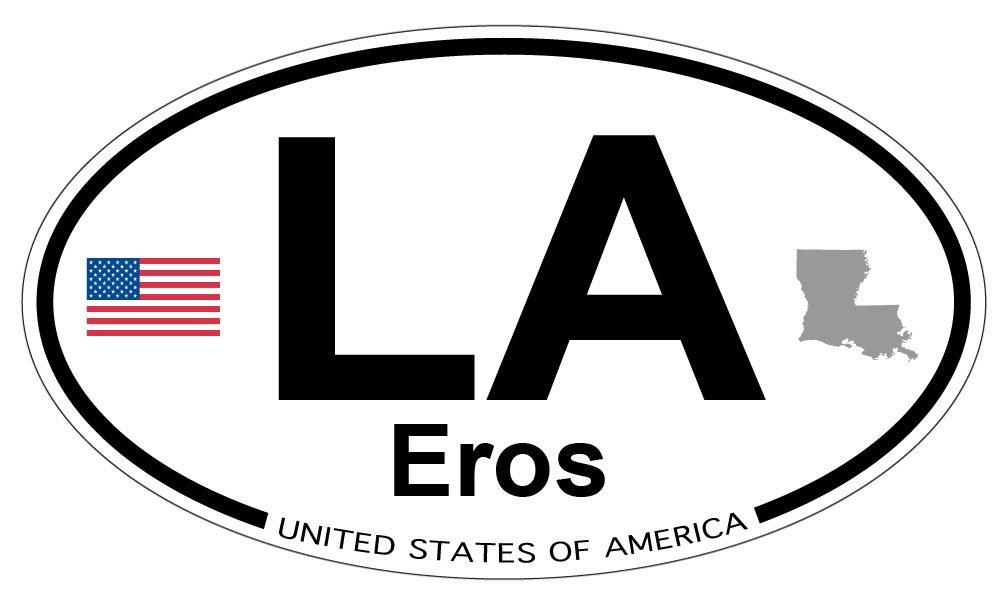 Amazon Eros Louisiana Oval Magnet Automotive