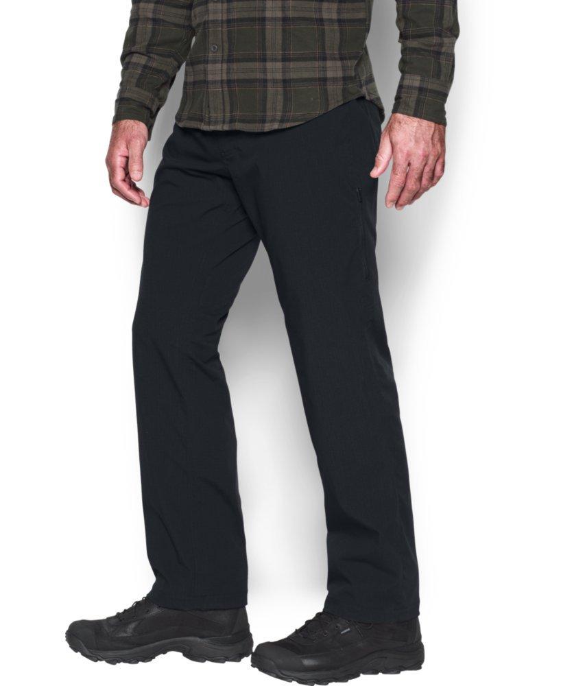 Under Armour Men's Storm Covert Tactical Pants, Black /Granite, 30/30 by Under Armour (Image #2)