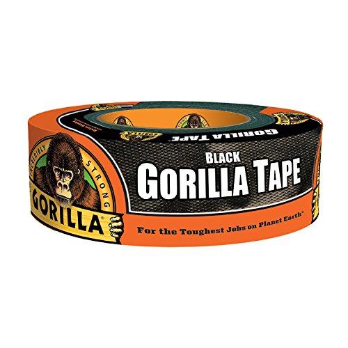 Gorilla Tape, Black Duct Tape, 1.88