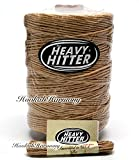 The Heavy Hitter Organic Hemp Wick Bees Wax 800 Ft Foot + 8 Feet Travel Rope Bee B Twine Spool Line Raw Beeswax Ball Spool Natural Lighter 700 Made In USA