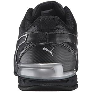 PUMA Men's Tazon 6 FM Puma Black/ Puma Silver Running Shoe - 12 2E US