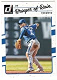 2017 Donruss Baseball Variation #165 Josh Donaldson Bringer of Rain Blue Jays