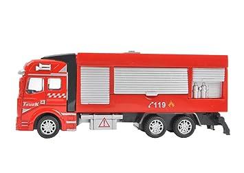 Camion Véhicules Metal Pompier Yjzq Miniature Enfant Voiture wOmNn8v0