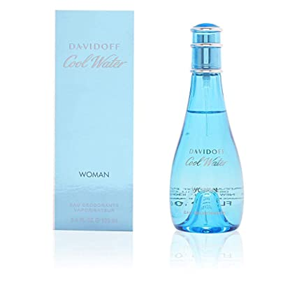 Cool Water By Zino Davidoff | Eau De Toilette | Fragrance For Women | Ocean Breeze And Sea Water Scent | 100 M L / 3.4 Fl Oz by Davidoff