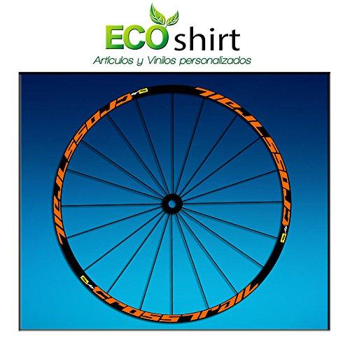 Ecoshirt JT-4RG2-X7CD Stickers Rim Mavic Crosstrail Bike 26