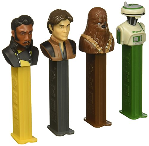 PEZ Candy Star Wars Han Solo Gift Tin, 14.5 Ounce -