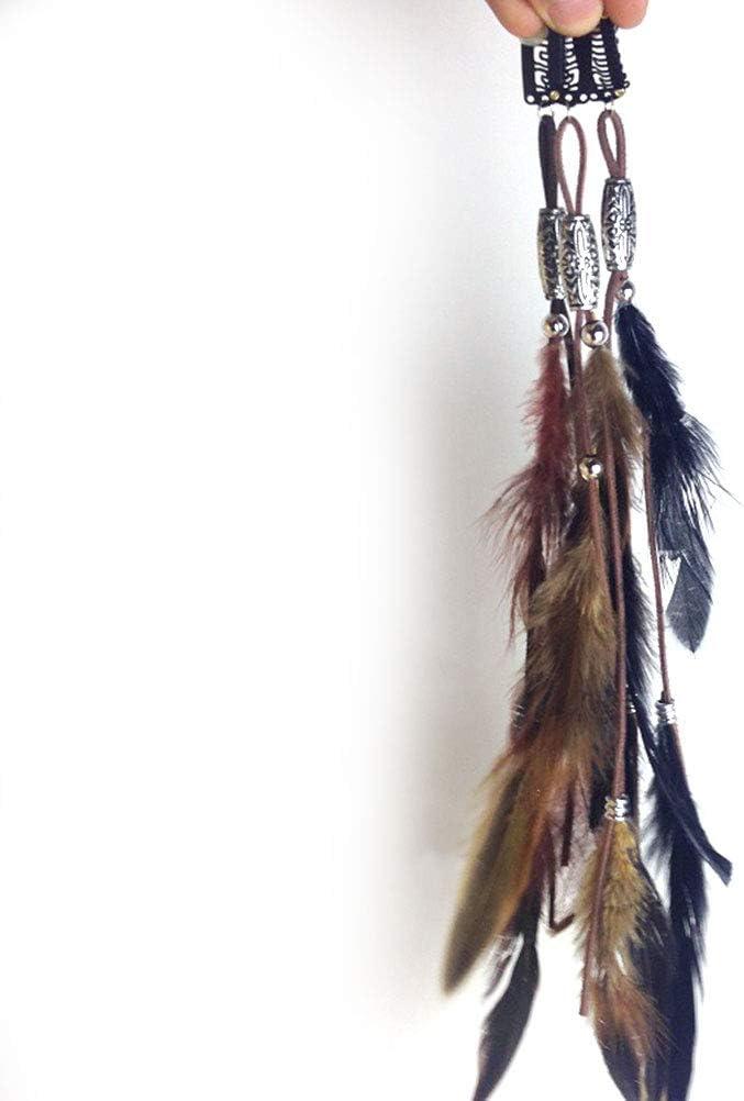 Lurrose, 3 uds. pinzas para el cabello de plumas