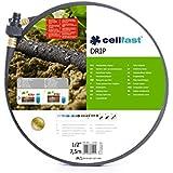 Tubo pianto da giardino irrigazione irrigazione goccia a goccia hosepipe 1/2 x 7,5 m, adatta Hozelock