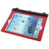 DealMux PVC Outdoor Caminhadas Water Resistant luva de protecção a seco Pouch Red para 9,7 iPad Inch